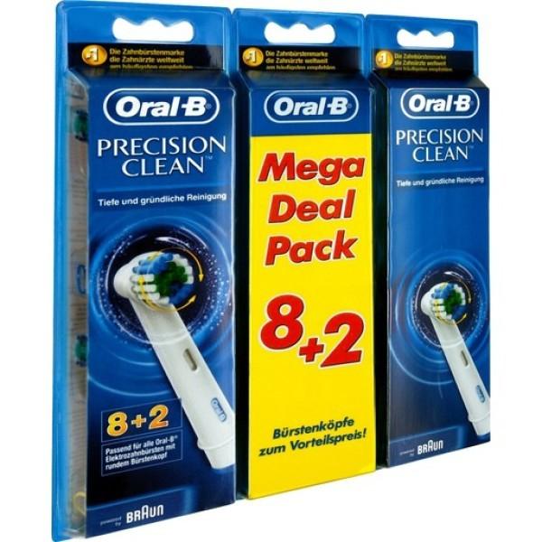 [Di-Life] Mega Pack 8+2 Oral-B Aufsteckbürsten Precision Clean um nur 17,99€ inkl. Versand