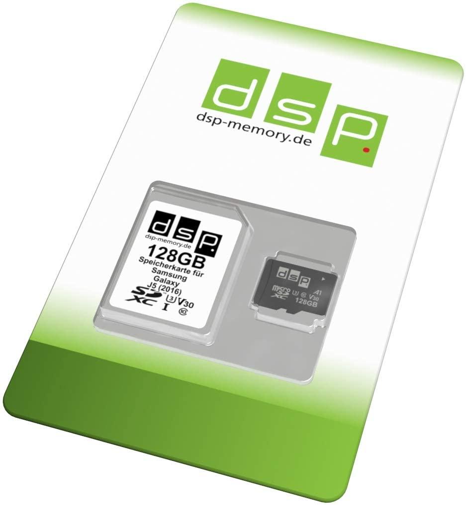 DSP microSDXC Speicherkarte mit 128GB (A1, V30, U3)