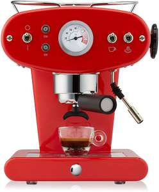 Illy FrancisFrancis! X1 Ground Espressomaschine rot