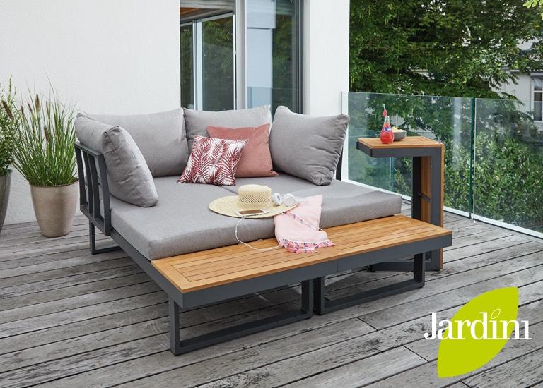 -25% auf Jardini Gartenmöbel bei Leiner und kika