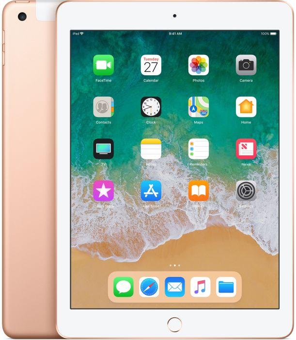 """Apple iPad 9,7"""" 2018 Wi-Fi + Cellular 32 GB Gold (MRM02FD/A)"""