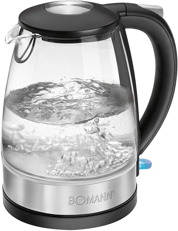 Bomann WKS 6026 G CB Wasserkocher - 1,7L 2200 Watt (Bestellbar - aber nicht auf Lager)