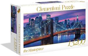 Clementoni 13200 Teile Puzzle High Quality Collection New York 291,4 x 134,4 cm