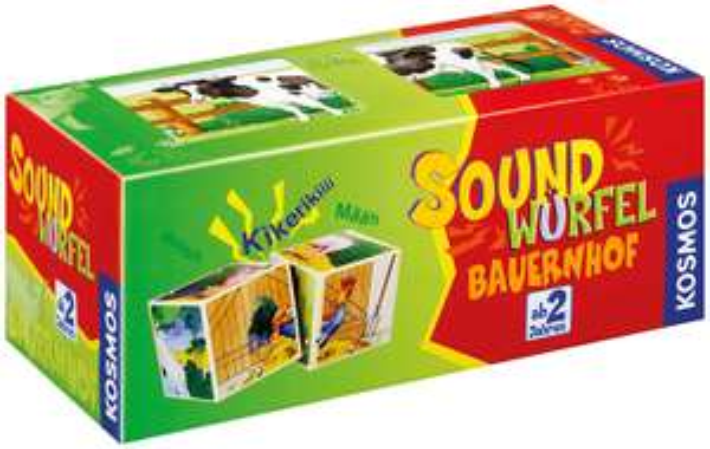 Preisjäger Junior: Kosmos Soundwürfel Bauernhof