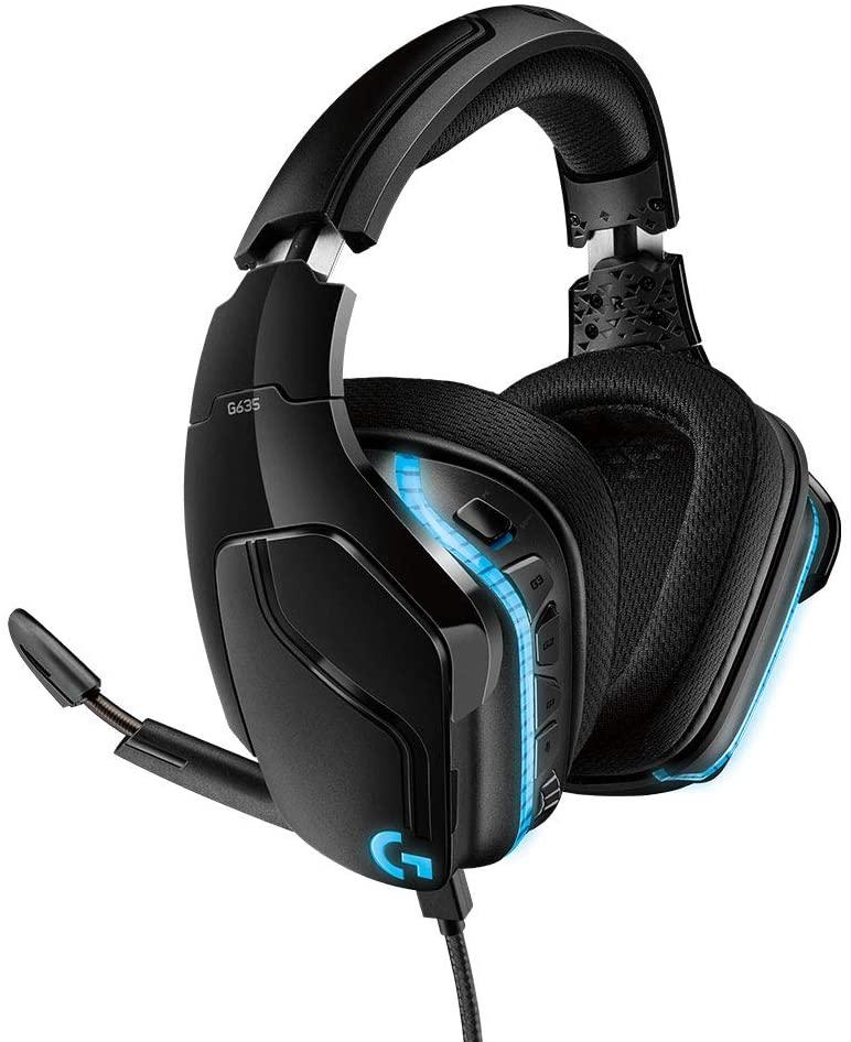 [Amazon] LOGITECH G635 LYGHTSYNC Gaming Headset Schwarz für 75,64€ inkl. Versand