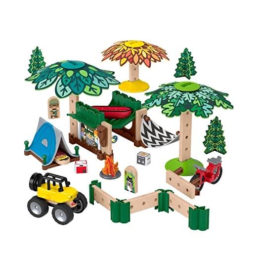 Fisher-Price - Wunder Werker Holzspielzeug Campingplatz