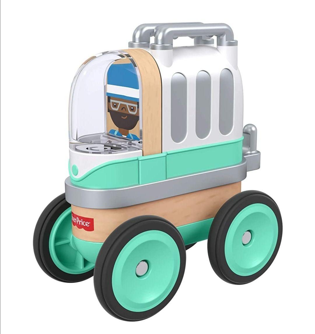 Fisher Price Wunderwerker *Camper Spielzeugauto*