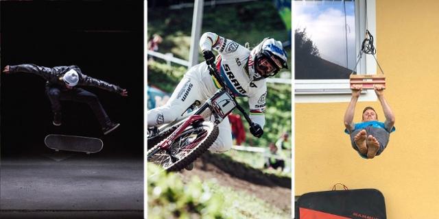 13 kostenlose (teilweise kurze) Sportfilme, mit hauptsächlich heimischen Sportlern