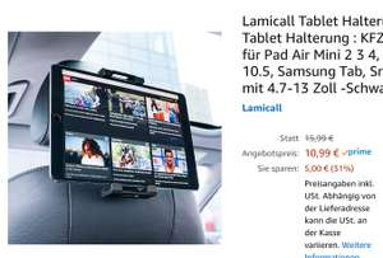Lamicall Tablet Halterung Auto