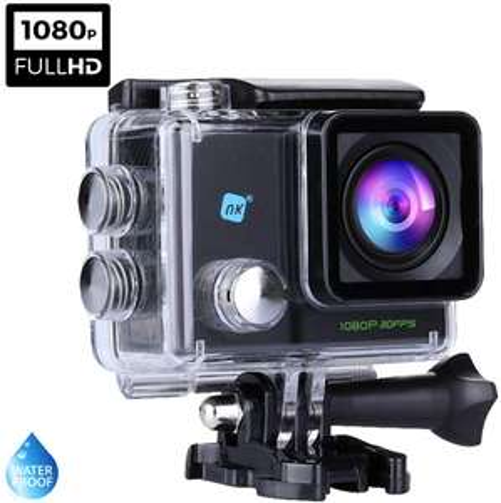 NK AC3056 - Wasserdichte FULL HD Action-Sportkamera