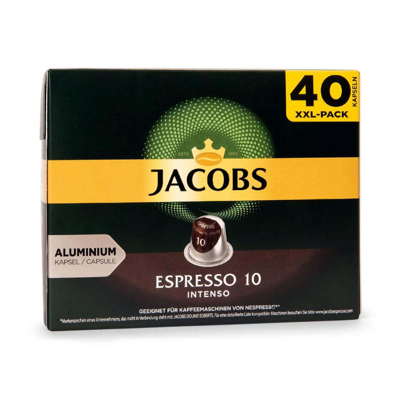 JACOBS Nespresso®-kompatible Café-Kapseln, Espresso 10