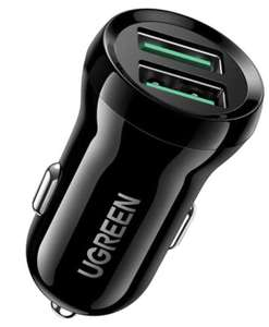 [Amazon] Ugreen (2x USB-A mit Quick Charge 3.0)