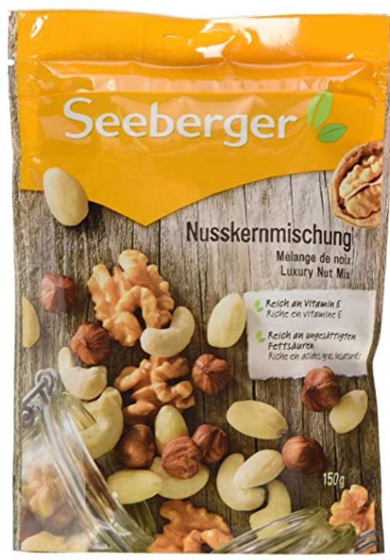 Seeberger Nusskernmischung, 12er Pack (12 x 150 g)