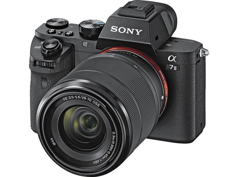 [Mediamakt] SONY Alpha 7 II schwarz mit Objektiv AF E 28-70mm 3.5-5.6 OSS um 909€