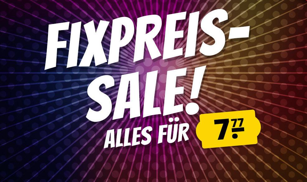 Sportspar: Bestimmte Produkte um 7,77€ Fixpreis-Sale