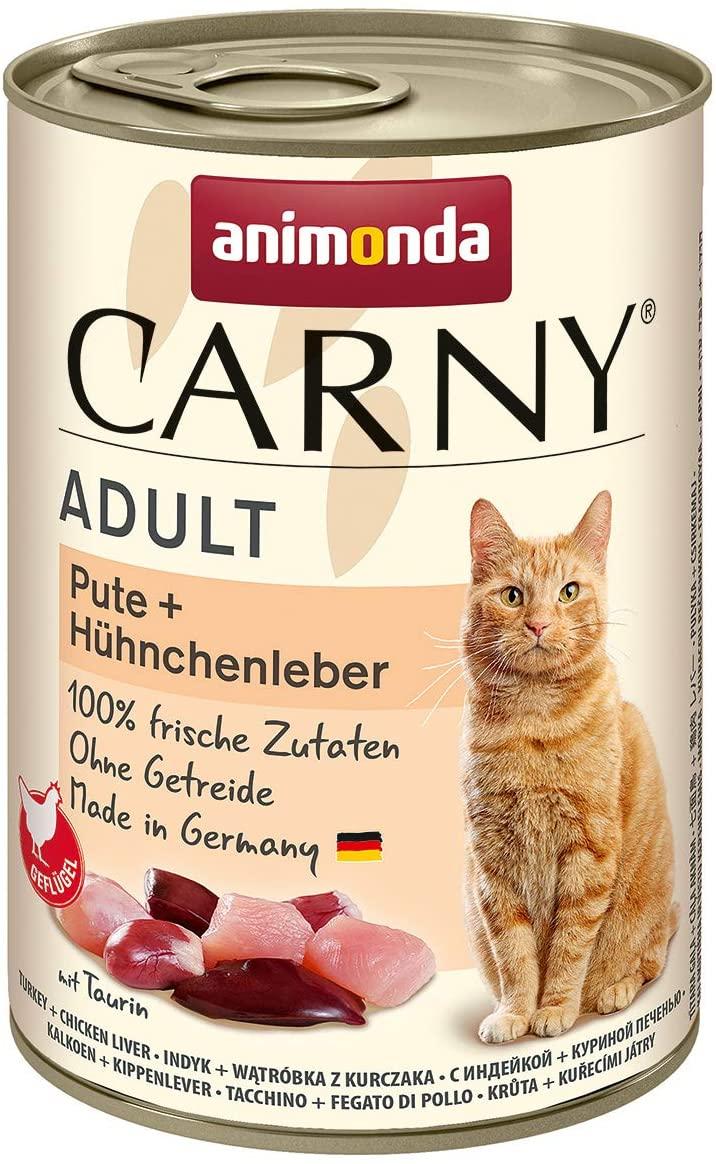 animonda Carny Adult Katzenfutter, Nassfutter für ausgewachsene Katzen 6,49 euro