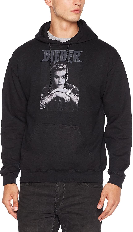 Offizieller Justin Bieber Kapuzenpulli für die größten Fans (3XL); Muscle Shirt für kleinere Fans (XL) um 6,43 Euro