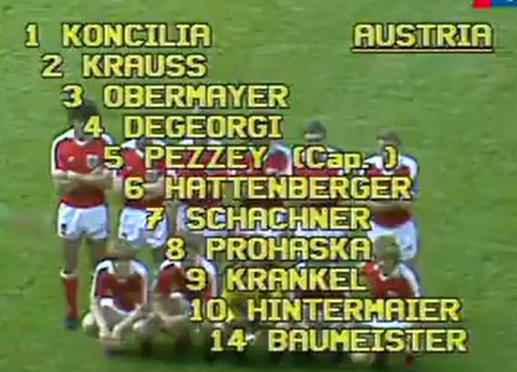 Sportklassiker auf ORF TV Thek - Cup Finali 2004 & 2019, Davis Cup 1990, WM 1982...