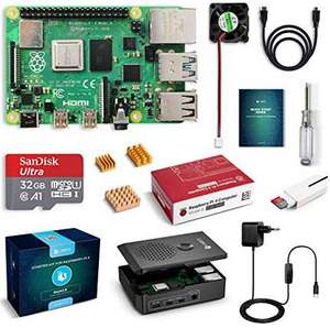 Raspberry Pi 4 Model B 4 GB Ultimatives Kit