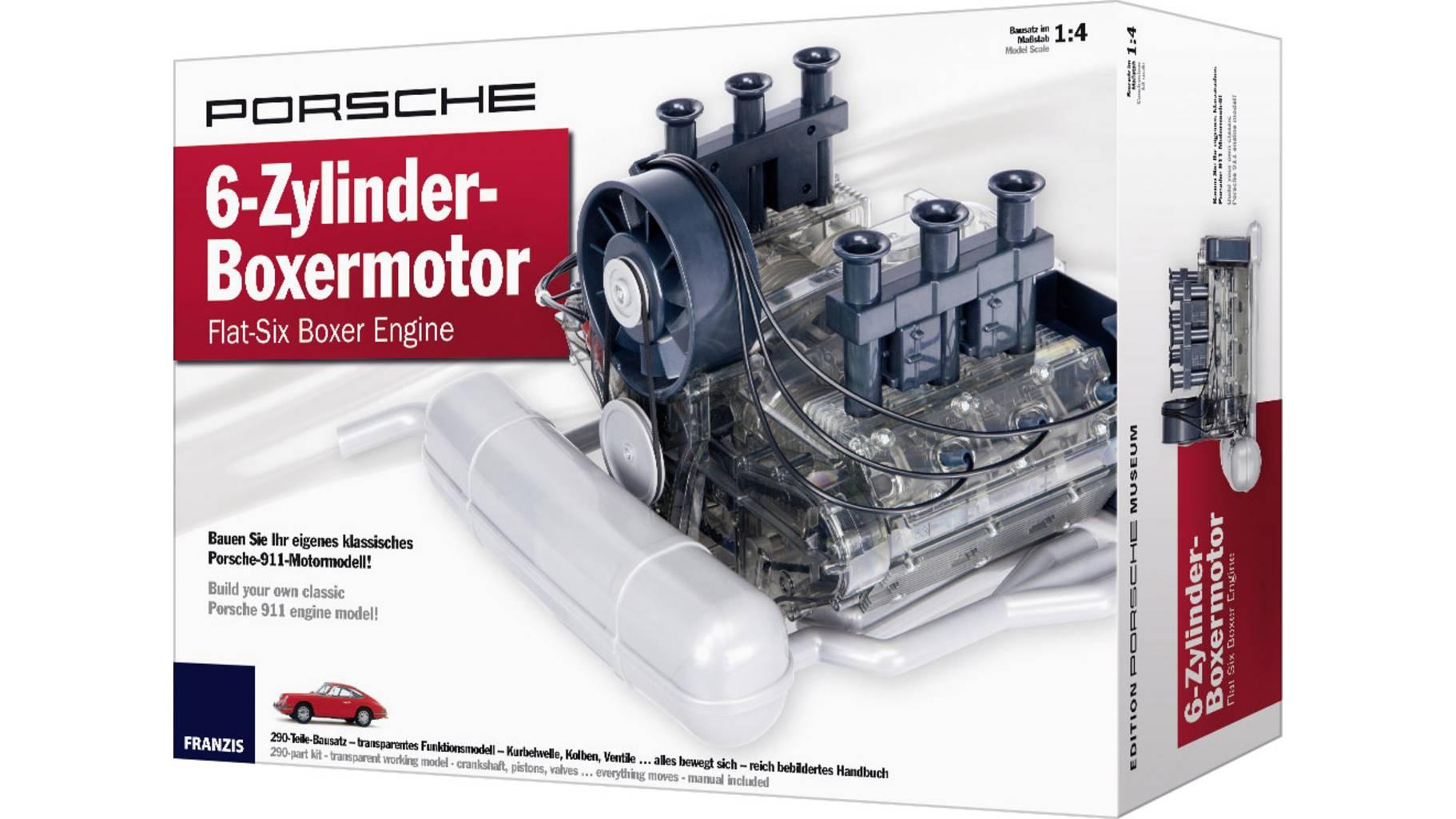 [GetGoods] Franzis Verlag 65911 Porsche 6-Zylinder-Boxermotor um 93,95€ statt (122,80€)