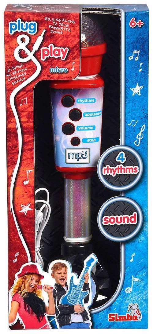 Simba Plug & Play Kinder Mikrofon