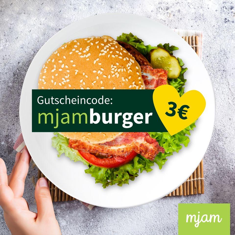 [Mjam] Bis 19:00: 3€ Rabatt ab 8€ für alle