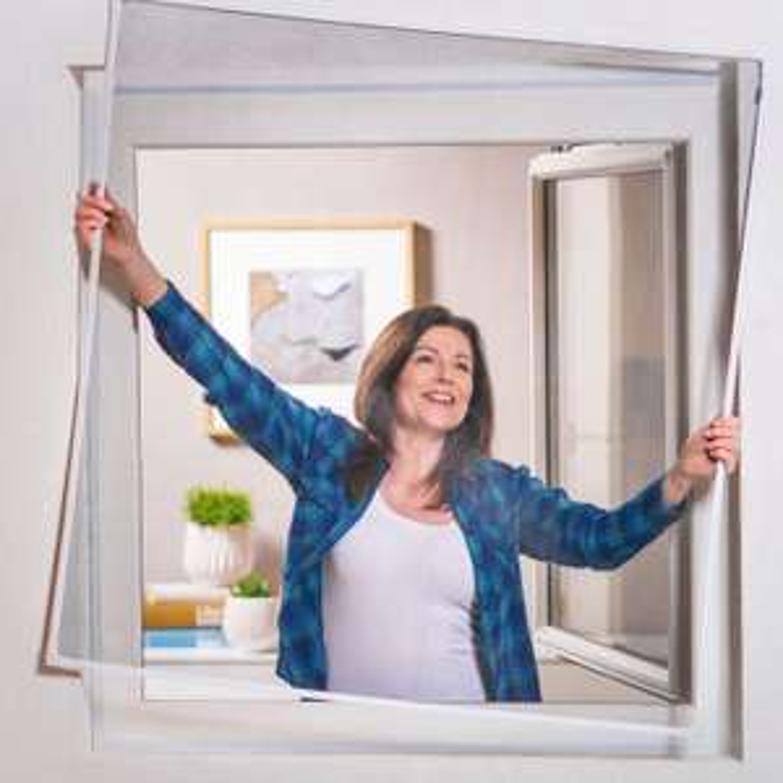 MY LIVING STYLE Klemm-/Magnet-Insektenschutz-Fenster