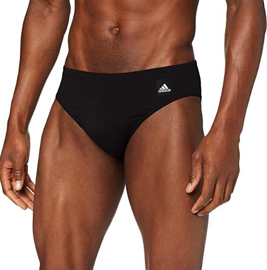 [SchmalerPreisjäger] adidas Herren Pro Solid Badehose in Größe 4 (Taillenumfang 80cm)