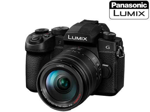 Panasonic LUMIX G90 Systemkamera mit Objektiv G Vario 12-60mm 3.5-5.6 ASPH