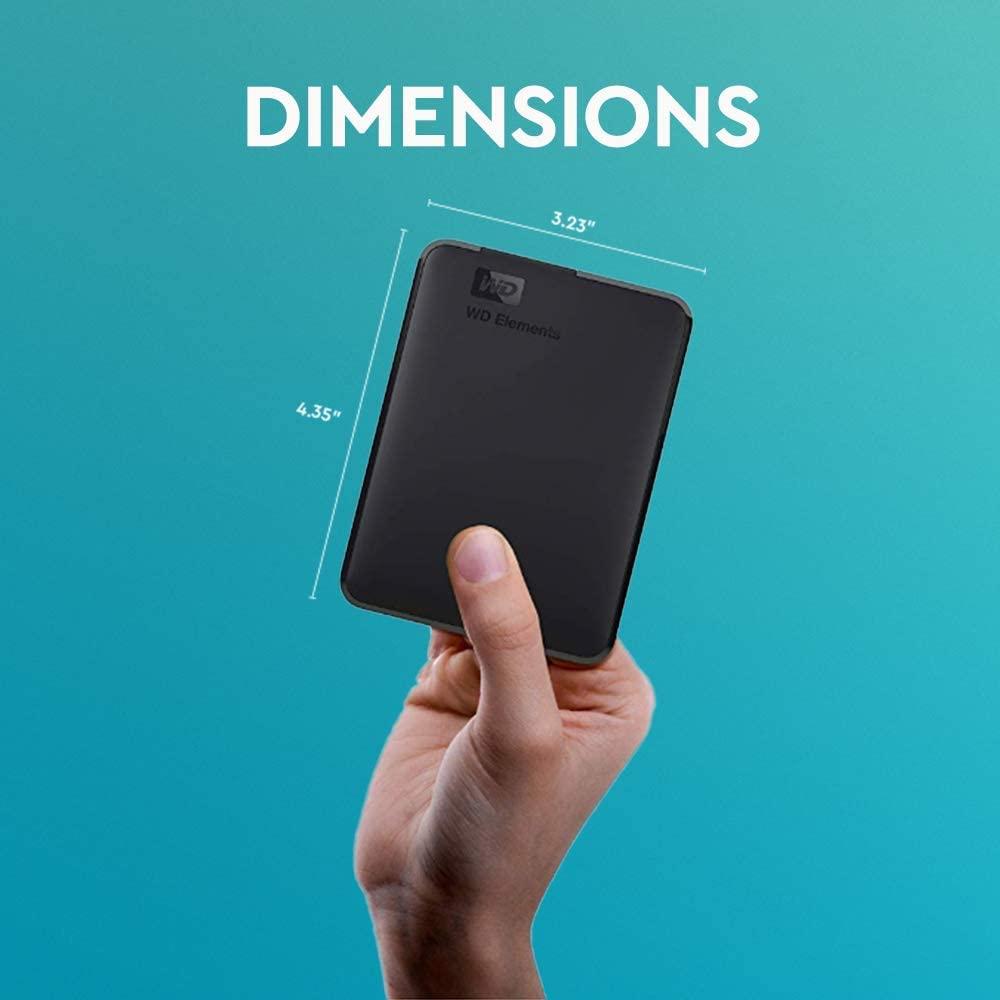 WD Elements Portable, externe Festplatte - 5 TB - USB 3.0 - WDBU6Y0050BBK-WESN