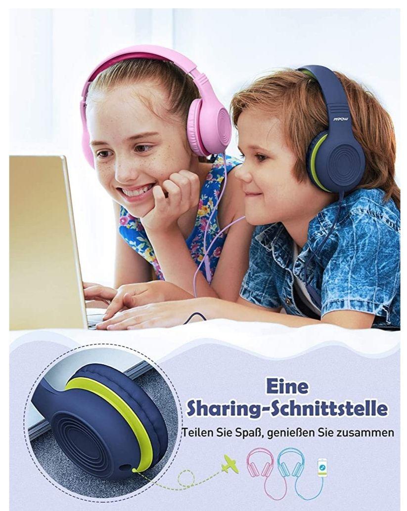 Kinder Kopfhörer 85db 3€ günstiger mit Coupon