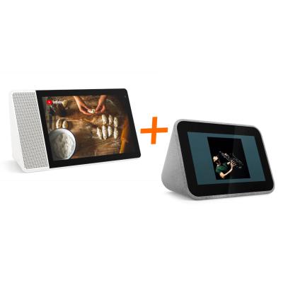 """Lenovo Bundle: Lenovo Smart Clock + Lenovo Smart Display 10,1"""""""