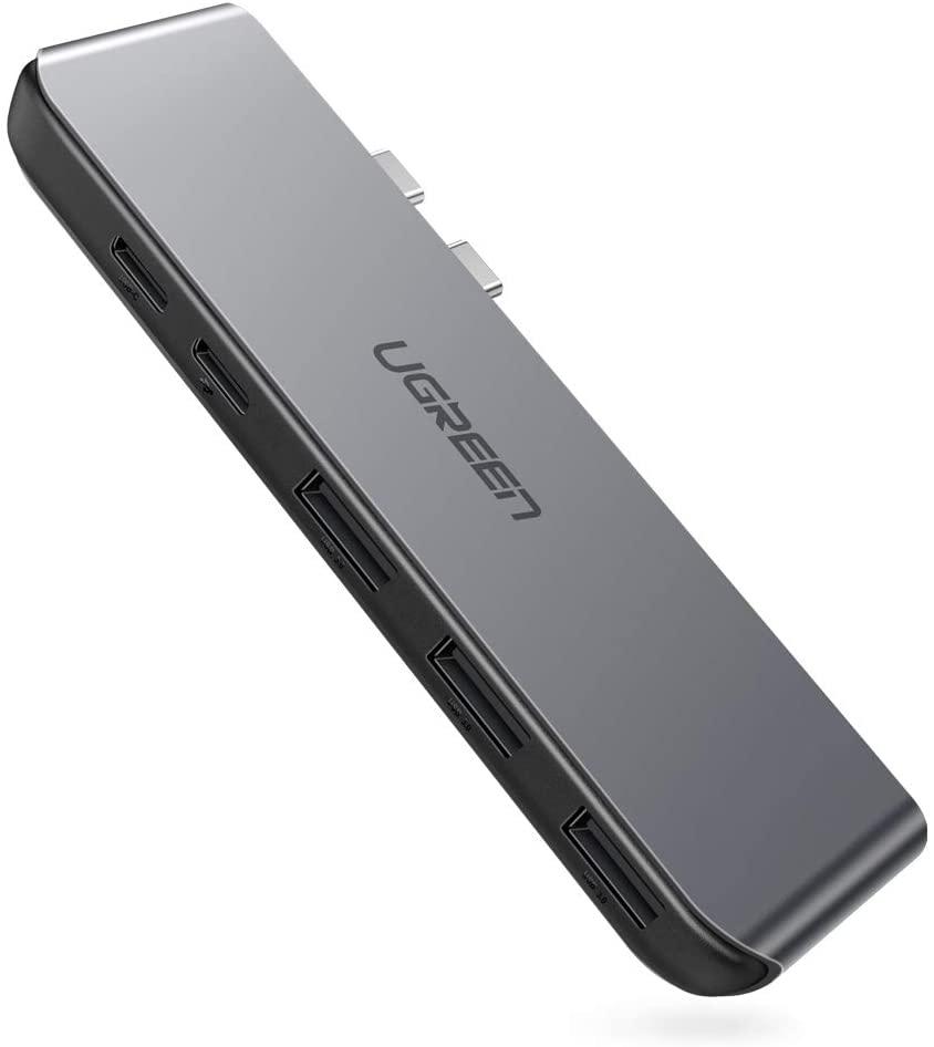 UGREEN Type-C Adapter, 5in1 USB Hub