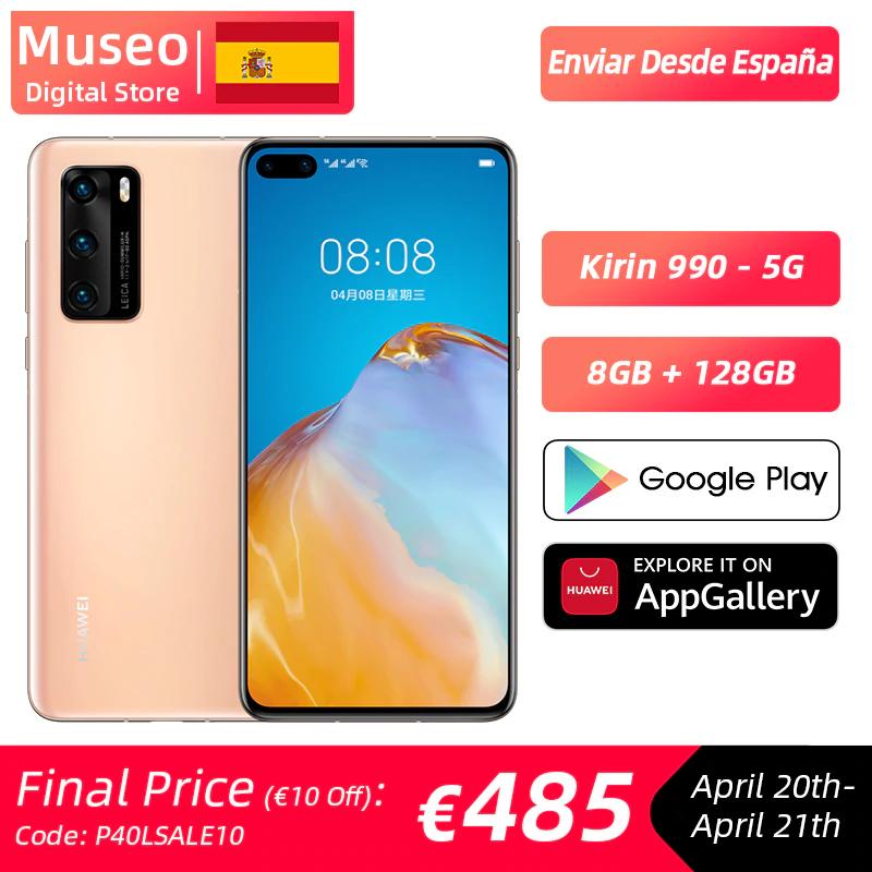 [Aliexpress] Huawei P40 5G für 490,51€