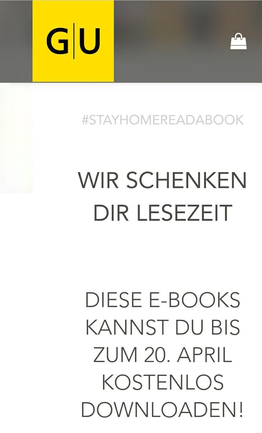GU kostenlos Bücher downloaden(z.B. Lafers Kochbuch)
