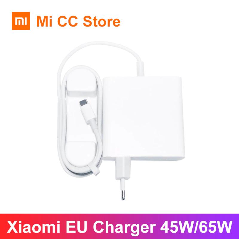Original Xiaomi Mi 65W Ladegerät mit Typ-C PD Kabel (Power Delivery, QC3.0, 3.25A/65W Max)