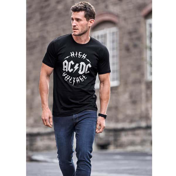 ACDC, Rambo , Top Gun T-Shirt