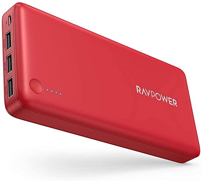 RAVPower 26800mAh Powerbank Externer Akku 5,5A Ausgang iSmart Handy Ladegerät