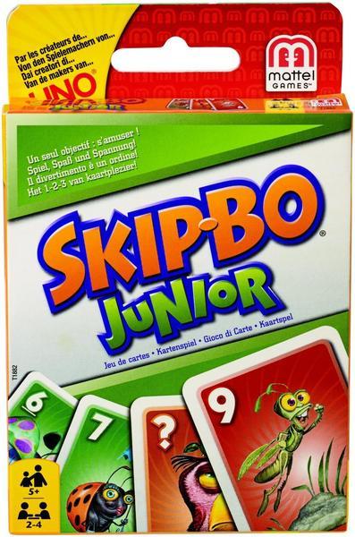 Mattel Games Skip-Bo Junior Kartenspiel
