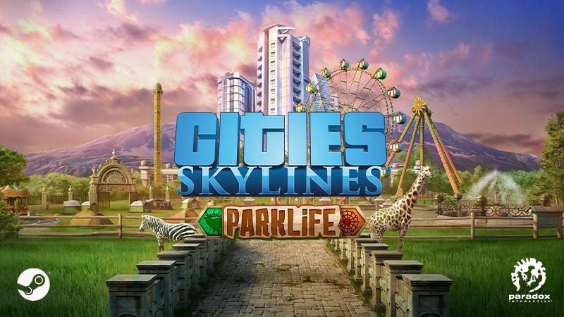 Cities: Skylines - Parklife DLC kostenlos (Steam)