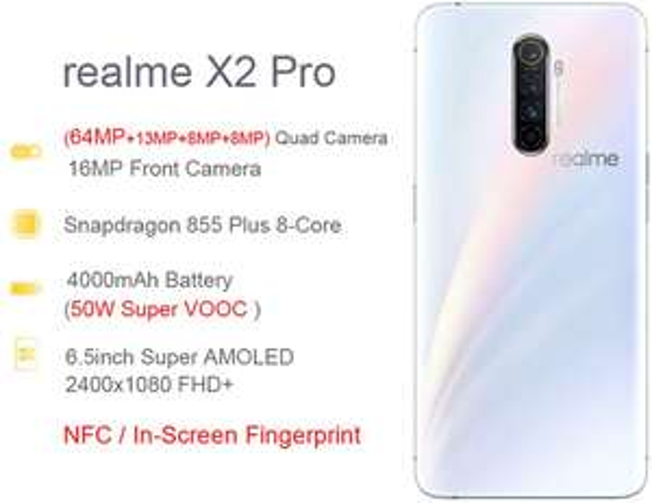 Realme X2 PRO (6GB/64GB) - Preis/Leistungskiller [Amazon.es]