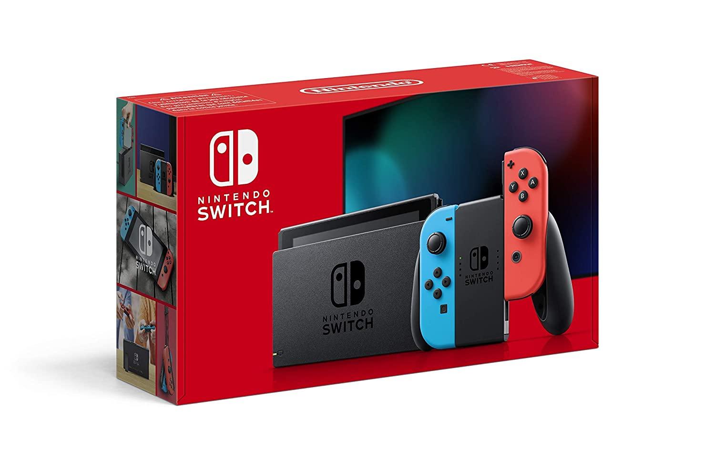 AMAZON.de l Deal oder kein Deal Sie ist jedenfalls lagernd! l Nintendo Switch Konsole - Neon-Rot/Neon-Blau (2019 Edition)