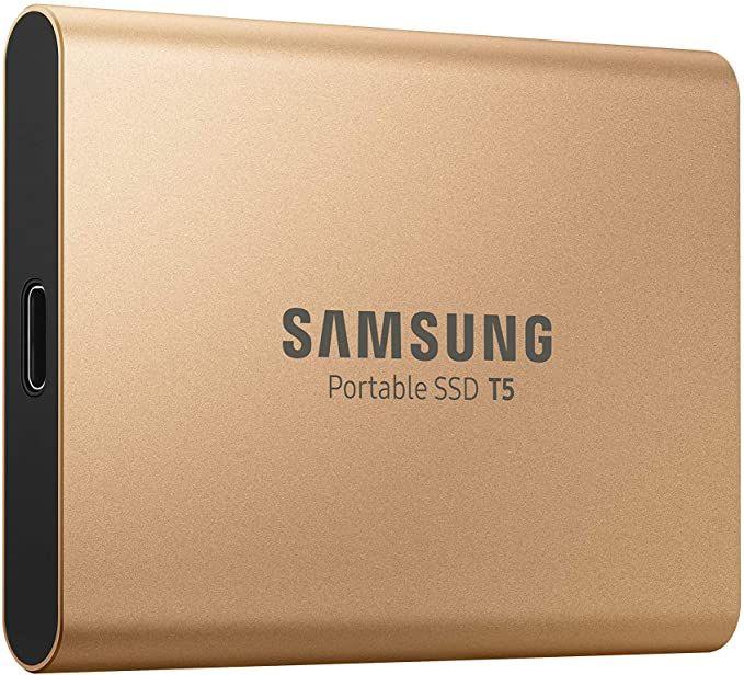 Samsung MU-PA1T0G/EU) Portable SSD T5 1 TB USB 3.1 Externe SSD alternativ auch in schwarz, oder rot