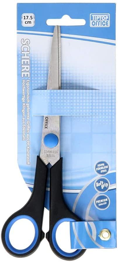 TipTop Office Schere mit Soft Griff (17,5cm)