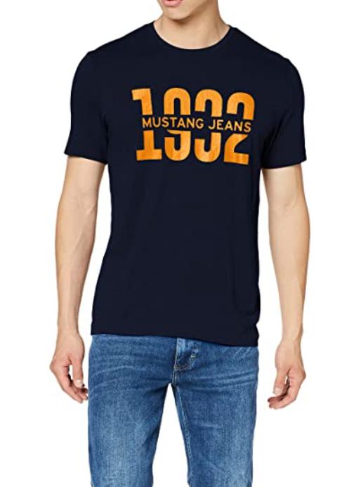 MUSTANG Herren Regular Shirt Größe S; andere Größen und Farben um 8 Euro (hier ist auch PVG höher)