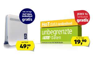 HoT Data - Jedes 12.Tarifpaket GRATIS!