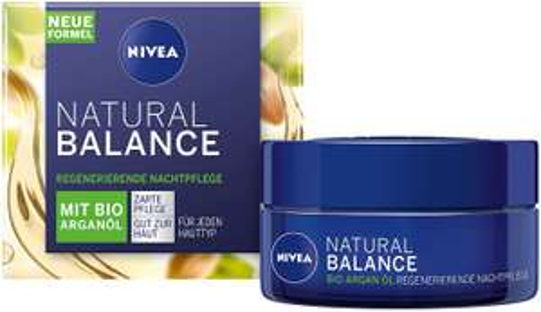 NIVEA Natural Balance regenerierende Nachtpflege (50 ml 5,20 euro