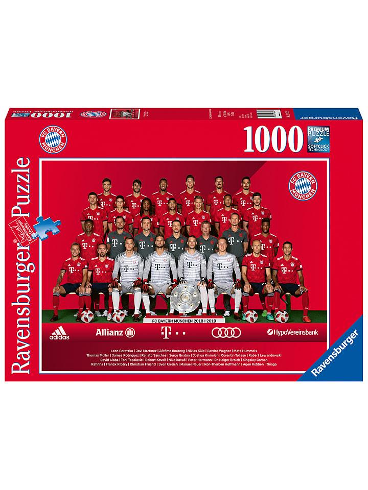 """[Limango] Ravensburger 1.000tlg. Puzzle """"FC Bayern Saison 2018/19"""" um 10,44€"""