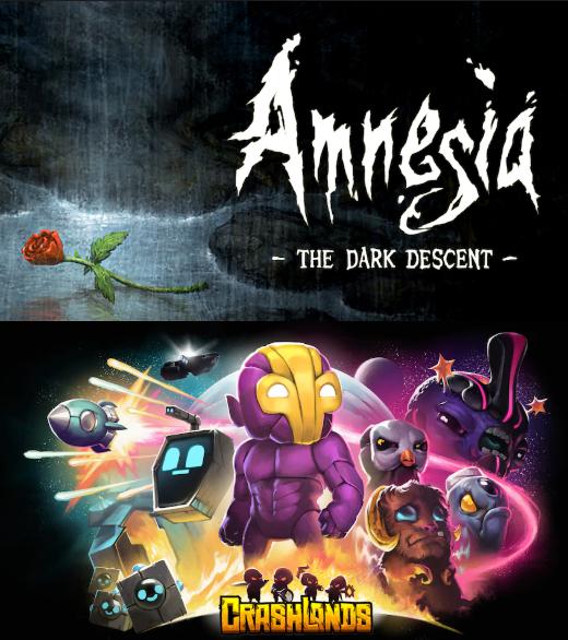 Amnesia & Crashlands (PC)