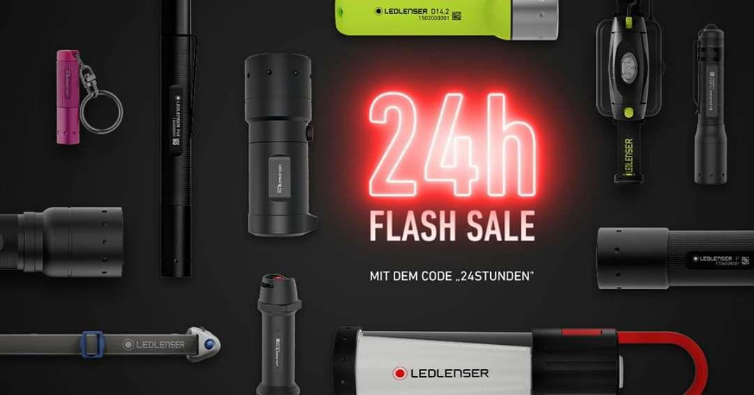 Taschenlampen Led Lenser -24% 1 Tag lang